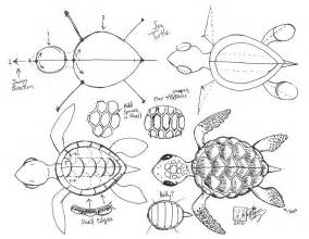 pics for gt how to draw a sea turtle