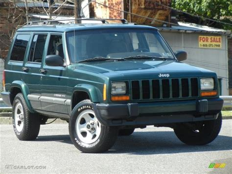 forest green pearlcoat 2001 jeep sport exterior photo 71586978 gtcarlot