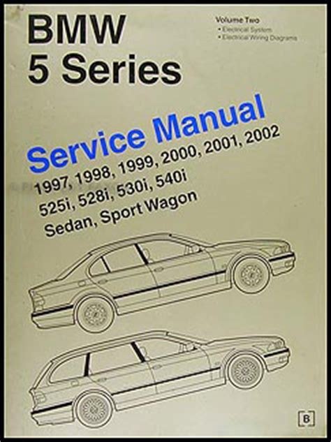 car repair manuals download 2001 bmw 5 series instrument cluster bmw 5 series service manual e39 volume 2