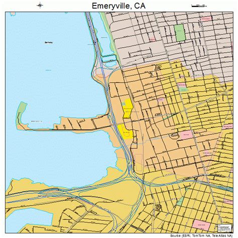 california map emeryville emeryville ca pictures posters news and on your