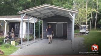 Enclosed Carport Kits Metal Carports For Sale Get Prices On Custom Steel