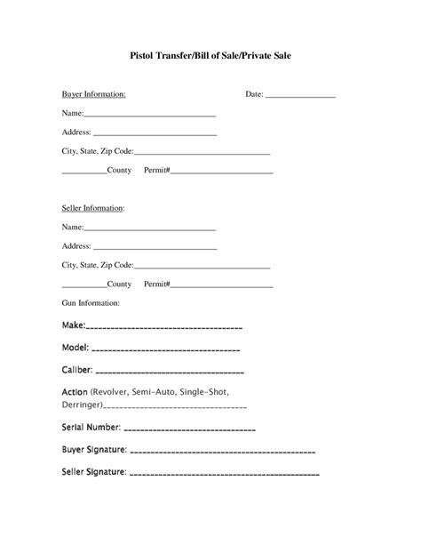firearm bill of sale form 2018 firearm bill of sale form fillable printable pdf