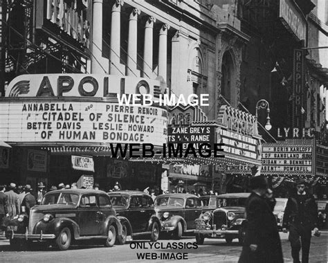 york city  theater marquee apollo lyric