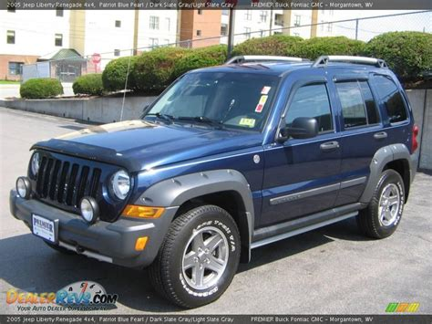2005 Jeep Patriot 2005 Jeep Liberty Renegade 4x4 Patriot Blue Pearl