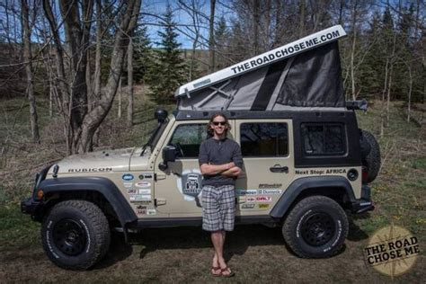 Jeep Guys Converts His Jeep Into A House On Wheels Vehicles