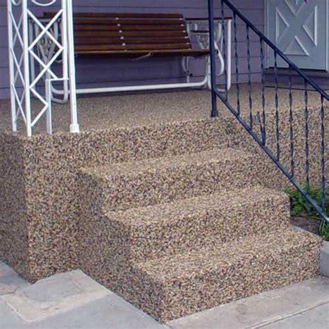 Stair Resurfacing by Kreative Concrete Resurfacing Epoxy And Stone In Colorado