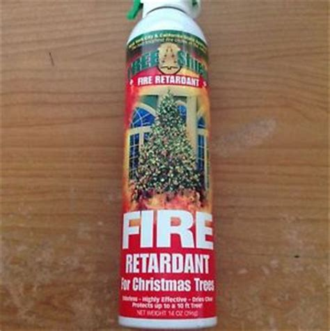 12 cans tree shield fire retardant spray for christmas