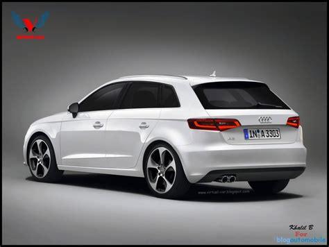 Audi A3 L by Audi A3 Sportback 2013 L Illustration Officielle De