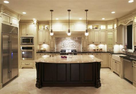 kitchens with big islands cabinets beds sofas and