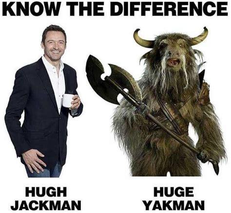 Hugh Jackman Meme - dopl3r com memes know the difference hugh jackman huge