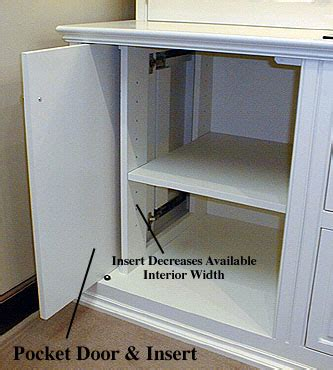 Cabinets Retractable Doors Hidden Tv Best Free Home Retractable Cabinet Doors
