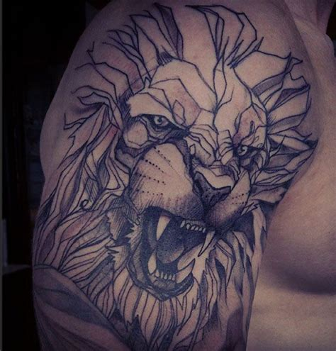 lion shoulder tattoos for men tattoos for ideas and image gallery for guys