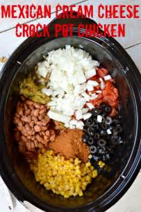 mexican cream cheese crock pot chicken gonna want seconds