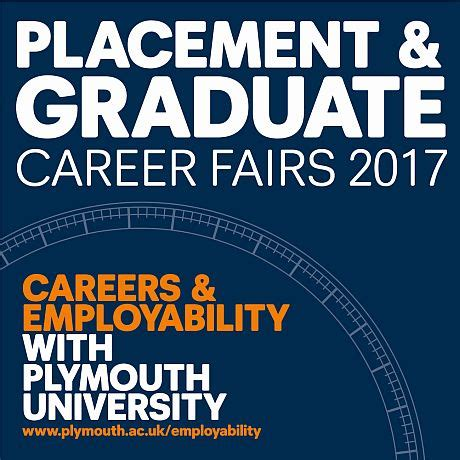 plymouth graduate placement graduate career fairs 2017 plymouth