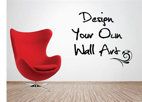 Make Your Own Artwork For Home Decor by Create Your Own Wall Art Stickers Peenmedia Com
