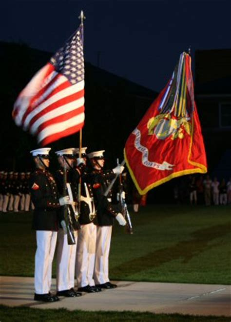 marine color guard rifle color guard desktop wallpaper wallpaper kostenlos