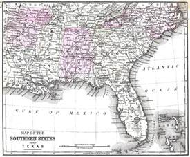 florida alabama map arkansas maps arkansas digital map library table of