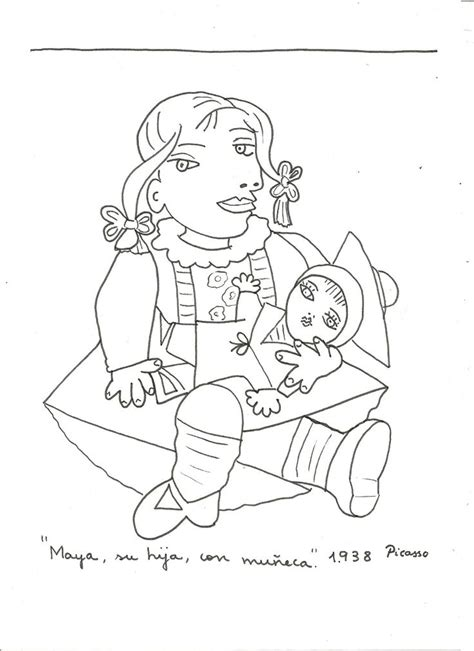 picasso coloring pages 17 best images about coloriage oeuvres d on