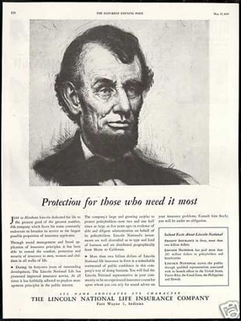 american national biography abraham lincoln vintage money insurance and banking ads of the 1940s page 8