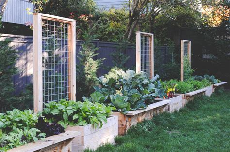 Trellis Seattle raised beds with built in trellis by seattle farm company jpg wood framed raised