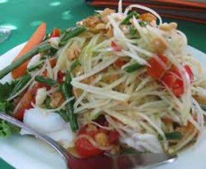 cuisiner la salade verte salade de papaye verte recette de salade de papaye verte