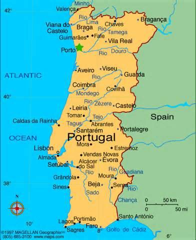 maps of oporto