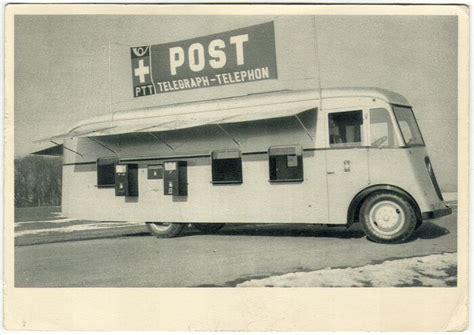 bureau des auto geneve carte postale ptt bureau de poste automobile suisse