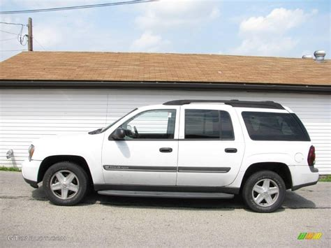 chevrolet trailblazer white 2002 summit white chevrolet trailblazer ext lt 4x4