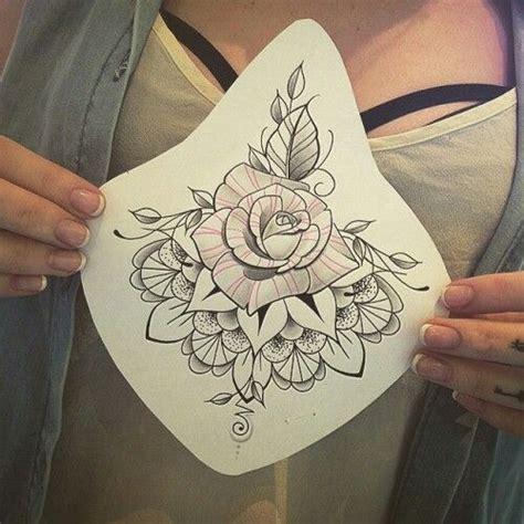 sternum tattoo ideas 25 best ideas about sternum design on