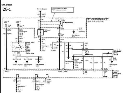 wiring diagram for fuel circuit ford truck