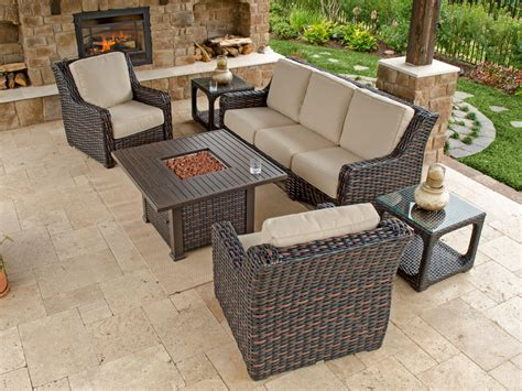 woven patio furniture 2932125 tangiers resin wicker furniture outdoor