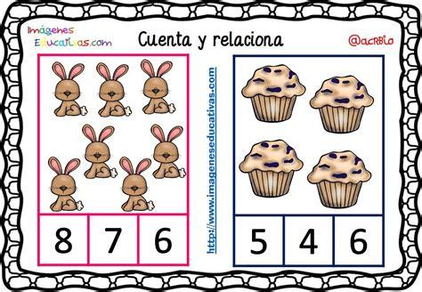 imagenes educativas cuenta y relaciona fichas para aprender a contar 12 imagenes educativas