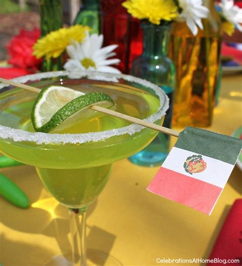 margarita celebrations at home