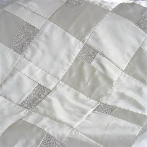 Wedding Patchwork Quilt - fashion dress wedding dress quilt