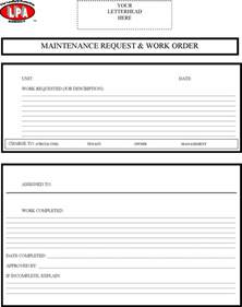 work order template free maintenance work order template excel formxls