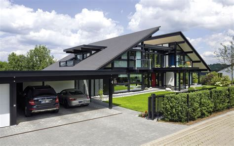 haus design design haus 8 black in glas und holz architektur