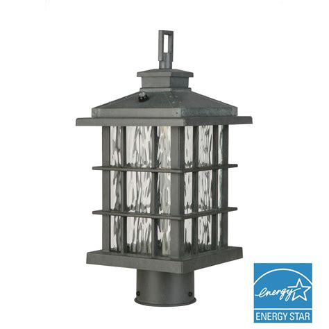 home depot outdoor l post outdoor led post l silver post light outdoor lighting