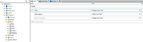 sitecore sitecore branch template exle