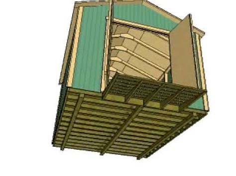 gable storage shed plans  shedkingnet youtube