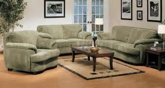 olive microfiber oversized living room set