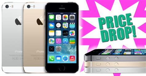 mobile phones and deals end of month price drop for the apple iphone 5s