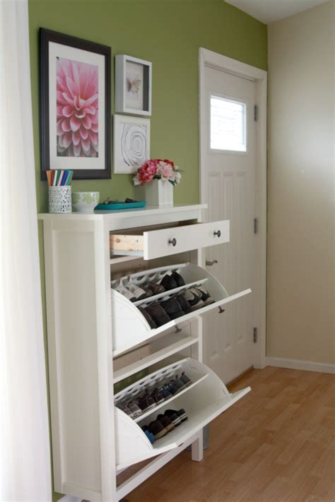 ikea entryway storage eat sleep decorate organization in your entryway