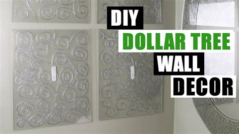 dollar tree home decor diy dollar tree glam wall dedcor dollar store diy bling