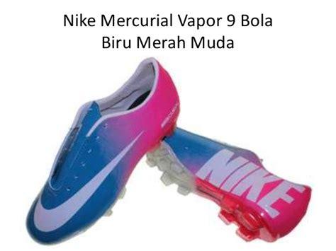 Sepatu Bola Terbaru Nike Mercurial Putih Merah sepatu bola terbaru