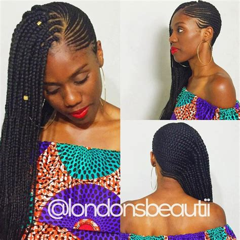 Side Cornrow Hairstyles by Side Cornrows Designs Www Pixshark Images