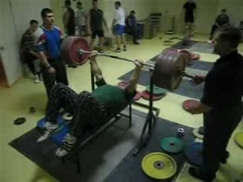 495 bench press evgeny chigishev bench press 225 kg or 495 lbs youtube
