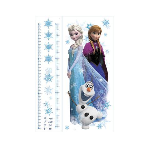 Wandtattoo Kinderzimmer Und Elsa by Wandsticker Disney Die Eisk 246 Nigin Messlatte Elsa Und