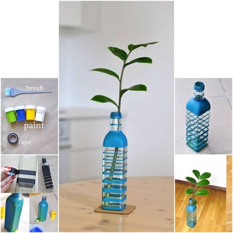 How To Make A Vase by 15 Amazing Diy Flower Vases To Decorate Your Home