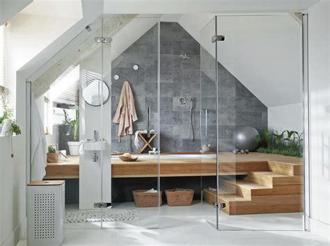 Baignoire Sous Pente by Installer Un Espace Bientre Sous Les Combles With