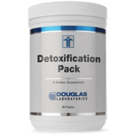 Detox Pack Uses by Douglas Laboratories Detoxification Pack 30 Pack S The